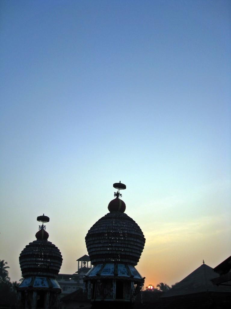 Temple Chariot at Sunrise - Udupi Homestay