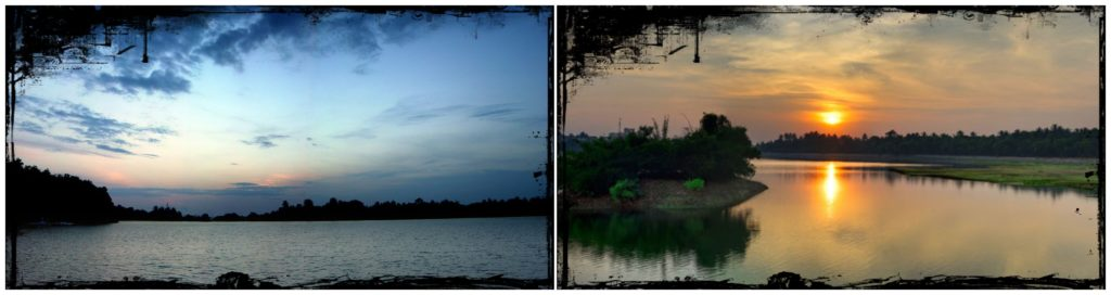 Manipal lake near udupi homestay